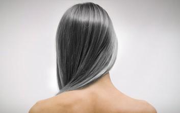 Καλύψτε φυσικά τα γκρίζα μαλλιά