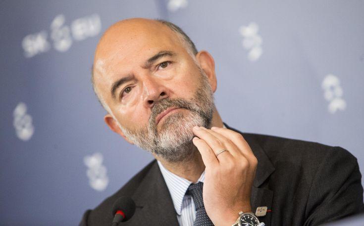 Μοσκοβισί: Να ανατεθεί η προεδρία του Eurogroup στον επίτροπο Οικονομικών