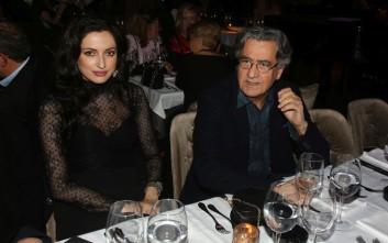 Σπάνια βραδινή έξοδος για τον Νίκο Γαλανό με την σύντροφό του