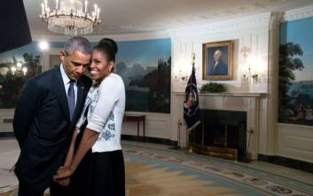 Το γλυκό μήνυμα του ερωτευμένου Μπαράκ Ομπάμα στη Μισέλ