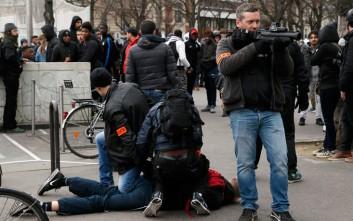 Συγκρούσεις μαθητών-αστυνομίας για τον βιασμό νεαρού στο Παρίσι