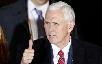 Αισιόδοξος ο Πενς μετά τις διαπραγματεύσεις με το Μεξικό