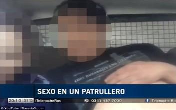 Έκαναν σεξ στο περιπολικό και ο ασύρματος τους καλούσε σε περιστατικό