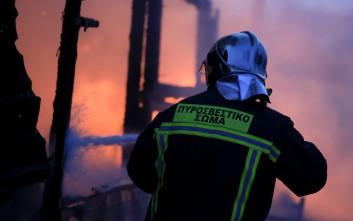 Σε εξέλιξη πυρκαγιά στην Αδάμι Αργολίδας
