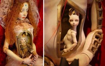 Οι πορσελάνινες κούκλες που κρύβουν μέσα τους ένα φρικιαστικό μικρόκοσμο