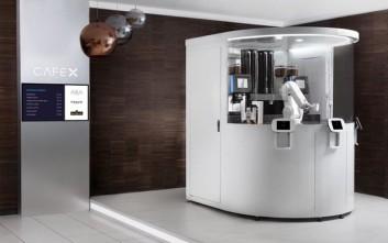 Το ρομπότ καφετζής σερβίρει εσπρέσο στο Σαν Φρανσίσκο