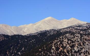 Στο ένα μέτρο το χιόνι στα Λευκά Όρη