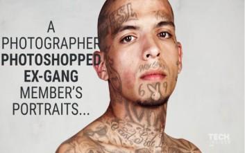 Πρώην μέλη συμμοριών χωρίς τα τατουάζ που καλύπτουν όλο τους το σώμα