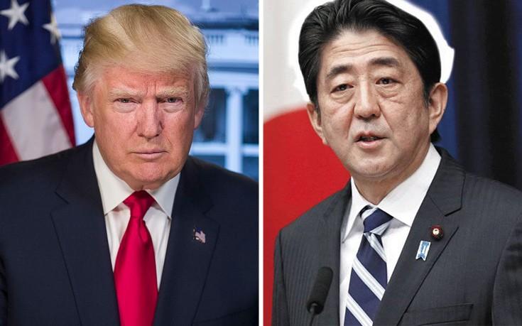 «Κλείδωσε» η επίσκεψη Τραμπ στο Τόκιο στα τέλη Μαΐου