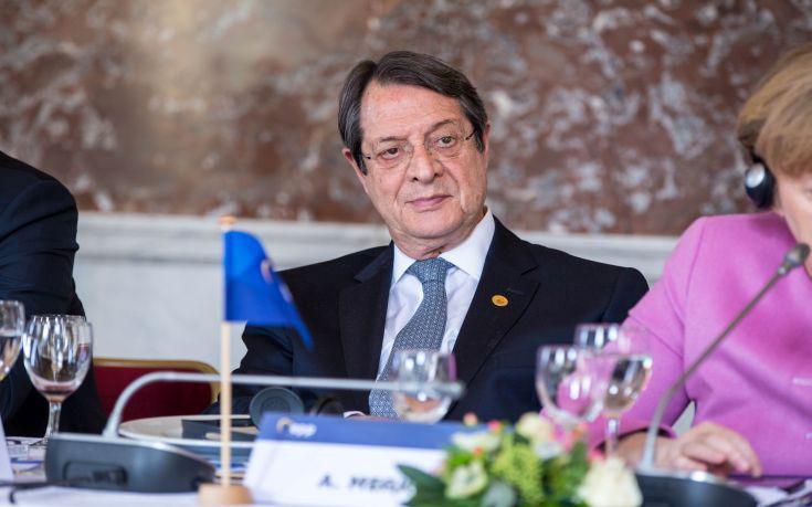 Επαφές Αναστασιάδη για το Κυπριακό στη Νέα Υόρκη