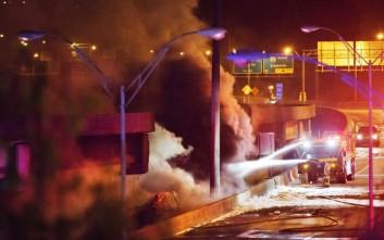 Κατέρρευσε τμήμα εθνικής λεωφόρου στην Ατλάντα εξαιτίας φωτιάς