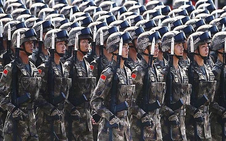 Μετά τις ΗΠΑ και η Κίνα αυξάνει τον αμυντικό προϋπολογισμό της