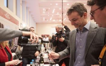 Μητσοτάκης: Θα καταργήσουμε τον Ειδικό Φόρο Κατανάλωσης στο κρασί