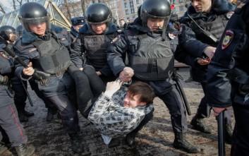 «Όχι» της Μόσχας σε ΗΠΑ και ΕΕ για την απελευθέρωση διαδηλωτών κατά της διαφθοράς