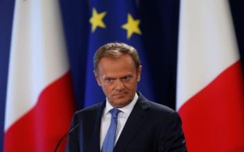 Ο Τουσκ πετά το μπαλάκι του Brexit στη Βρετανία