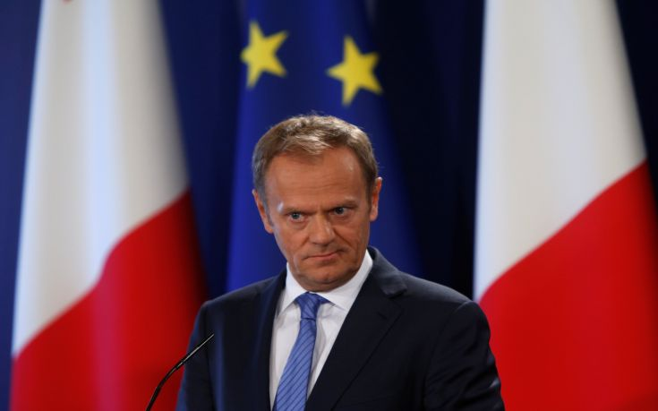 Τουσκ: Πρώτα το Brexit και μετά οι εμπορικές συμφωνίες