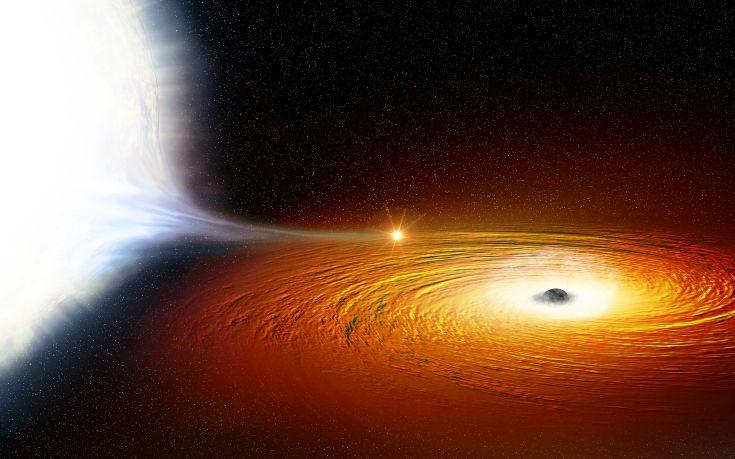 Ανακαλύφθηκε το πιο κοντινό άστρο στον γαλαξία μας γύρω από μια μαύρη τρύπα