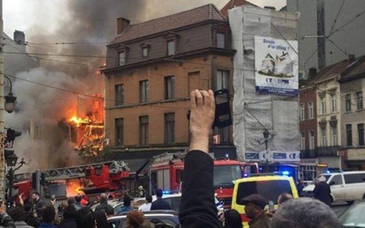 Επτά τραυματίες από έκρηξη σε κατοικία στις Βρυξέλλες