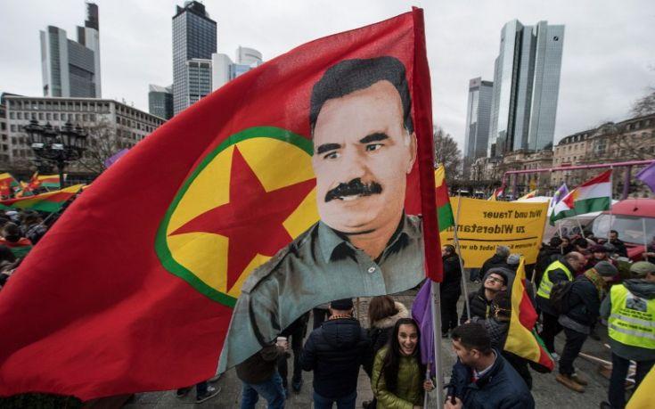 Διαδήλωση χιλιάδων Κούρδων εμπόδισε η γερμανική αστυνομία
