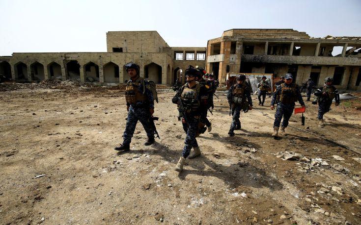 Σε ομηρία βρίσκονται άνδρες της αστυνομίας στη Μοσούλη