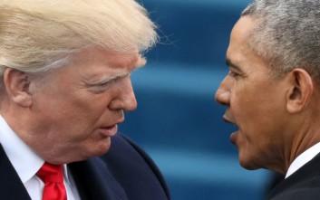 «Καρφιά» Ομπάμα κατά Τραμπ
