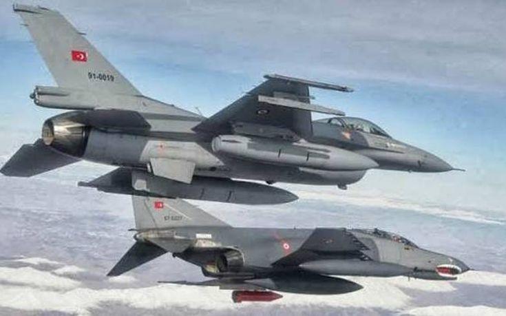 Νέες παραβιάσεις του εναέριου χώρου από τουρκικά μαχητικά