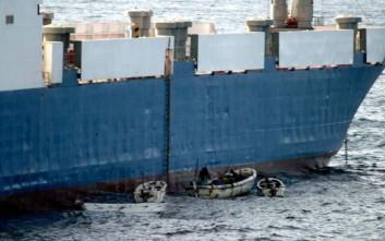 Δεκαεπτά ναυτικοί από Ουκρανία και Κίνα απήχθησαν σε επιθέσεις πειρατών