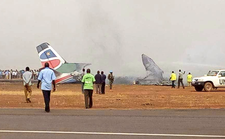 Συντριβή αεροπλάνου σε αεροδρόμιο του Σουδάν