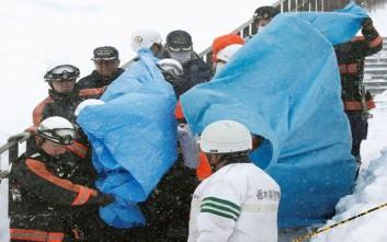 Απαντήσεις για το δυστύχημα από χιονοστιβάδα στην Ιαπωνία αναζητούν οι ειδικοί