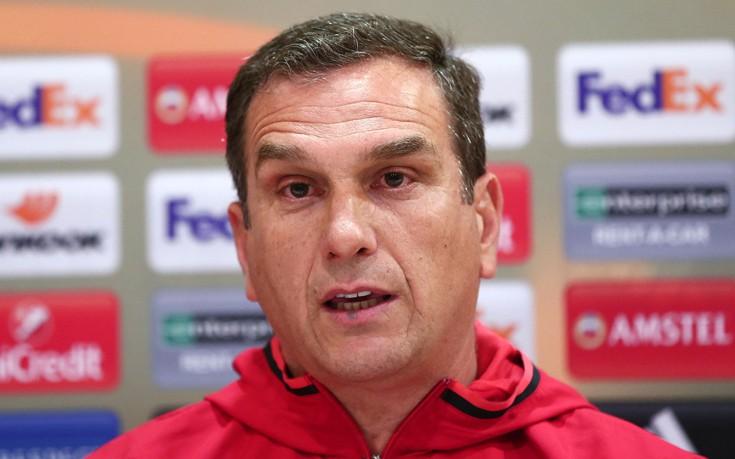 Βούζας: Ξέρουμε ότι θέλουμε γκολ για την πρόκριση