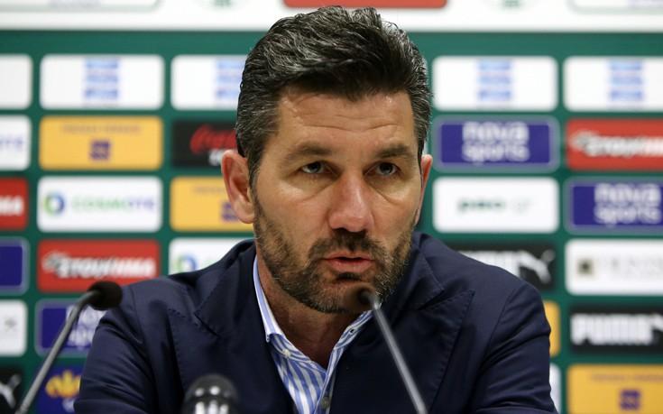 Ουζουνίδης: Είπα στους παίκτες μου πως έχει η κατάσταση στο ποδόσφαιρο