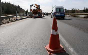 Κλειστή η Εγνατία Οδός στην Καβάλα λόγω εκτροπής φορτηγού