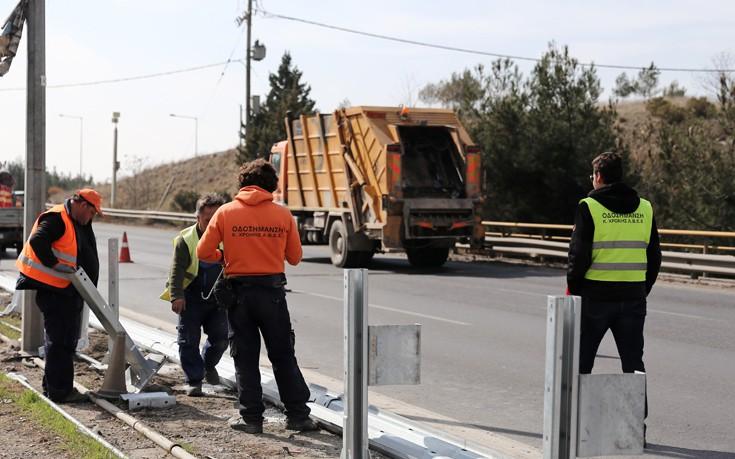 «Λίφτινγκ» στην εθνική οδό Θεσσαλονίκης – Νέων Μουδανίων