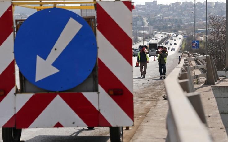 Εργασίες από σήμερα στην περιφερειακή της Θεσσαλονίκης
