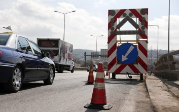 Κλειστή έως το απόγευμα η νέα εθνική Αθηνών- Θεσσαλονίκης