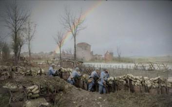 Η φρίκη του Α' Παγκοσμίου Πολέμου μέσα από έγχρωμες φωτογραφίες