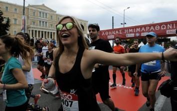 Εικόνες από τον Ημιμαραθώνιο της Αθήνας