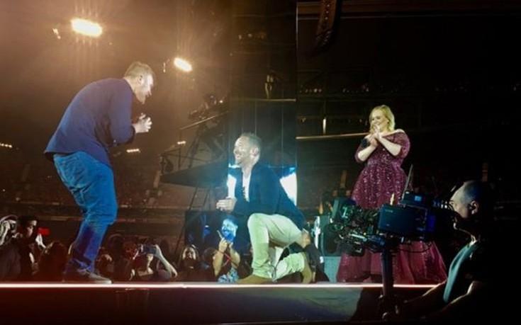 Αυστραλός έκανε πρόταση γάμου στον σύντροφό του σε συναυλία της Adele