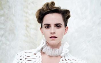 Η Emma Watson τόπλες για τα δικαιώματα των γυναικών