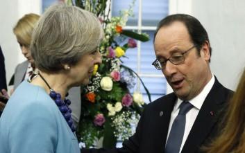 Ολάντ: Σε δεύτερη μοίρα οι συνομιλίες για τη σχέση Βρετανίας-Ε.Ε.