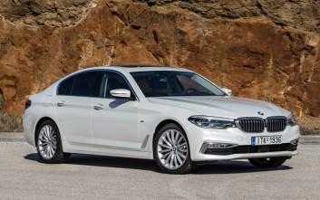 Σύντομη δοκιμή της νέας σειράς 5 της BMW