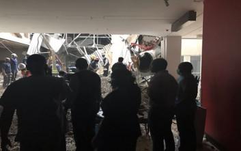 Στέγη νοσοκομείου κατέρρευσε στη Νότια Αφρική