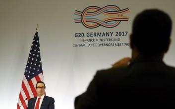 Μπλόκο Τραμπ για ελεύθερο εμπόριο και κλιματική αλλαγή