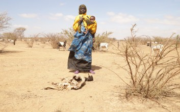 Η ξηρασία καταστρέφει τις σοδειές και σκοτώνει στην ανατολική Αφρική