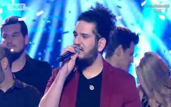 Ο Γιάννης Μαργάρης νικητής του The Voice
