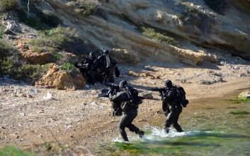 Άσκηση ανορθόδοξου πολέμου από μονάδες του στρατού