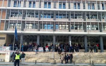 Συγκέντρωση συμπαράστασης στους 21 διωκόμενους για τις Σκουριές