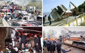 Τα δυστυχήματα που συγκλόνισαν την Ελλάδα