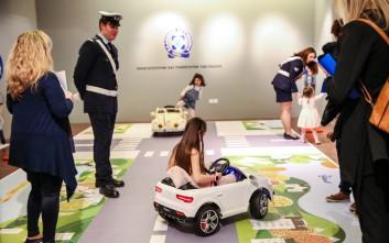 Εγκαινιάστηκε η έκθεση ζωγραφικής με θέμα «Η οδική ασφάλεια μέσα από τα μάτια των παιδιών»