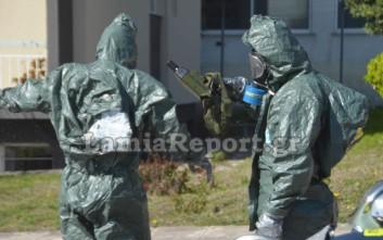 Άσκηση της ΕΜΑΚ για χημική και πυρηνική απειλή στην Περιφέρεια Στερεάς Ελλάδας